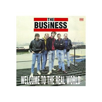 LP - The Business - Welcome To The Real World - Re, UK Punk, Oi!, Skinhead