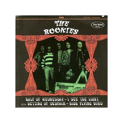 """45, 7"""" - Garage Revival - Rookies, The - Half Of Wednesday - Italy, Hear!"""