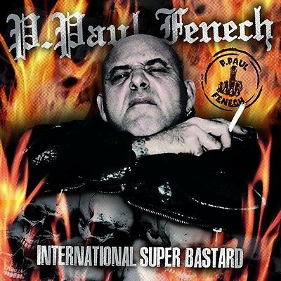 LP - P. Paul Fenech - International Super Bastard - Psychobilly, Meteors