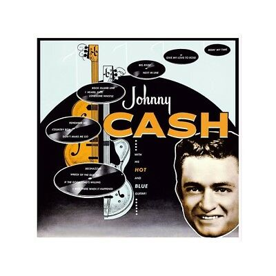 LP - Johnny Cash - With His Hot And Blue Guitar - Re, Country, Rockabilly