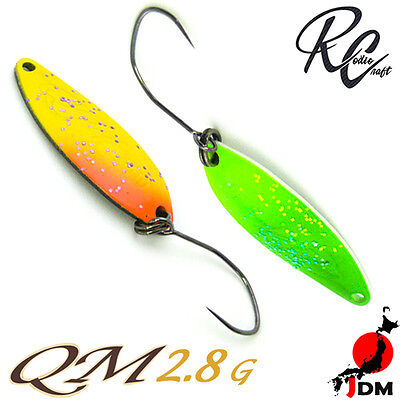 Assorted Colors RODIO CRAFT QM 2.8 g Trout Spoon