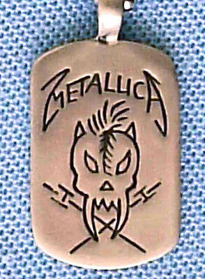 Metallica Heavy Metal Pendant Mens Boys Necklace Chain    Bpc 046