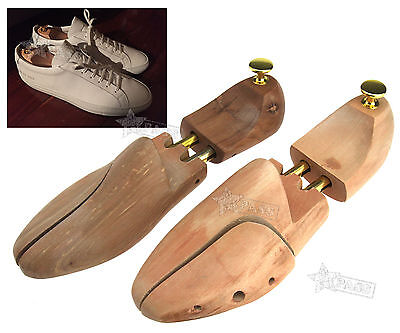 Pair of Cedar Wood Shoe Tree Stretcher Shaper Wooden  Different for choose