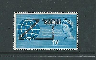 1963 Cablel Phosphor Fine Lightly Mounted Mint