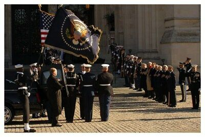 President Gerald R. Ford Funeral At National Cathedral Color Silver Halide Photo