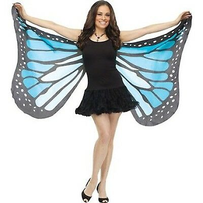 Soft Butterfly Adult Halloween Wings Accessory Blue Black Friday