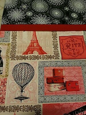 Embroidered Personalized STANDARD Pillowcase Paris