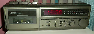 Vintage Sears and Roebuck AM FM Stereo Radio Cassette Player Recorder - portable