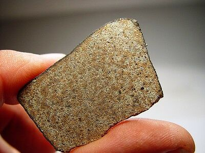 New Fall! Amazing Chondrite! Super Slice! Best Crusted Katol Meteorite 8.4 Gms