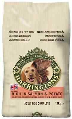 Harrington's Dog Food Complete Rich In Salmon and Potato 12kg