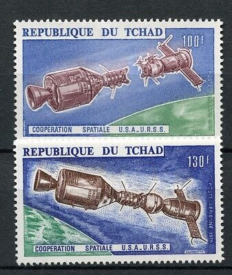 Chad 1975 SG#416-7 Apollo-Soyuz Test Project Space MNH Set #A59746