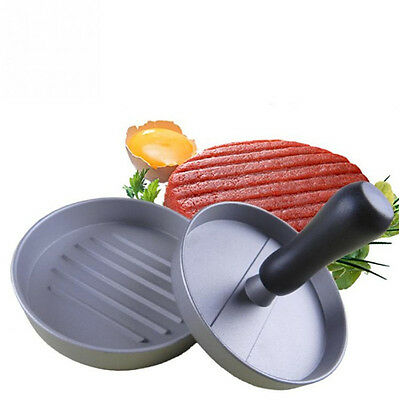 Heavy Duty Metal Non-Stick 4.72'' Half Pound Hamburger Press Maker Steak Mold
