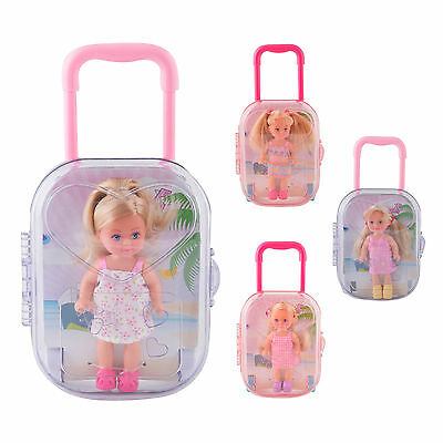 Evi Love Trolley Holiday Suitcase Girls Fashion Doll Toy Collection Assortment