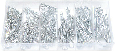 150pc hairpin set clip hair pin R hitch cotter retaining in case lynch car van
