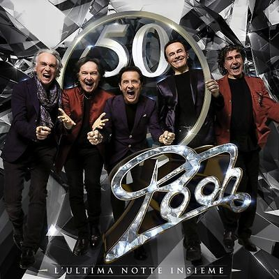 Pooh - Pooh 50 L'ultima Notte Insieme - 3Cd New Sealed 2016