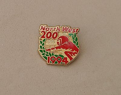 North west 200 1994 Pin badge   Superbikes Motorcycle Racing NW 200