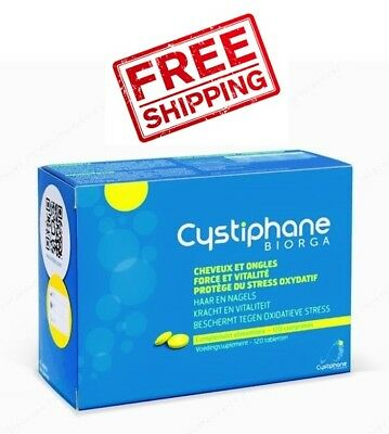 Cystiphane Biorga 120 Tabs. Laboratoires Bailleul Food Supplement ANTI HAIR LOSS