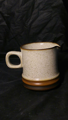 Denby Potter's Wheel Rust Red 6 oz Mini Creamer (s) - Excellent Condition