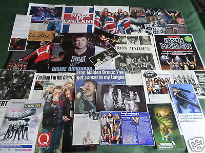 """Iron Maiden -  Music  - """"  Clippings /cuttings Pack """""""