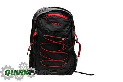 BRAND NEW VW Volkwagen Driver Gear GTI Black & Red Backpack DRG015500