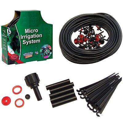 23M - 71pc Micro Irrigation Set Gardening Outdoor Drip Watering Automatic Plant