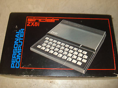 Ultra Rare Unbuilt Sinclair ZX81 Computer Kit With ZXpand Keyboard Upgrade!