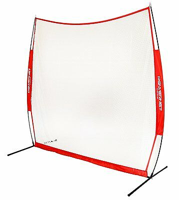 PowerNet Portable 7x7 Golf Practice Training Net for Hitting w/ FREE Carry Bag
