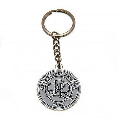 Official Licensed Football Product Queens Park Rangers Keyring Crest Gift New