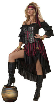 Womens Hot Pirate Wench Adult Halloween Costume