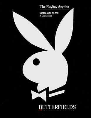 Butterfields The Playboy Auction  ( Rare )