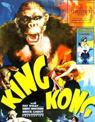 Christie's Hollywood Posters, King Kong, Garbo, Chaplin