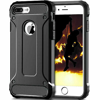 """Armor Case for iPhone 7 Plus 8 Plus 5.5"""" Hybrid Shock Proof Back Cover"""