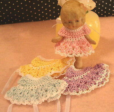 Miniature Doll Dress for Frozen Charlotte or any 2.1/2 inch doll