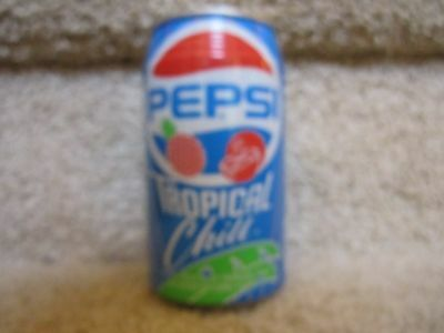 Pepsi Diet Cola Soda Pop Can limited edition unopened Tropical Chill Summer fun