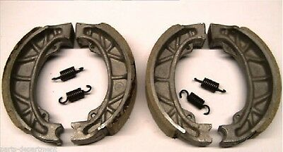 Offer! HONDA CUB C50 C70 C90 BRAKE SHOE SHOES TWO SETS front & rear with springs