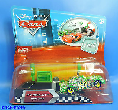 Disney Cars Launch & Racer /  M1894 / Chick Hicks  ( Verpackung blau City )