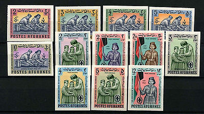 Afghanistan 1963/1964 Boy Scouts, Girl Guides MNH Imperf Set #D33270