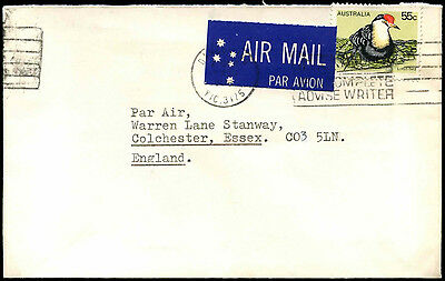 Australia 1970's Commercial Airmail Cover To UK #C36715