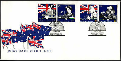 Australia 1988 Joint Issue With UK FDC First Day Cover #C36682