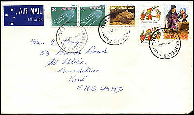 Australia 1980's Commercial Airmail Cover To UK #C36723