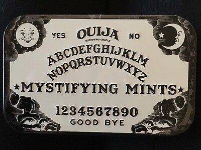 Ouija Board Mystifying Mints Tin New Collectable Halloween Gift Spooky Candy