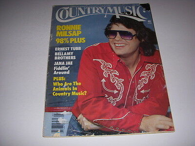 COUNTRY MUSIC Magazine, May, 1980, RONNIE MILSAP Cover, JANA JAE, ERNEST TUBB!