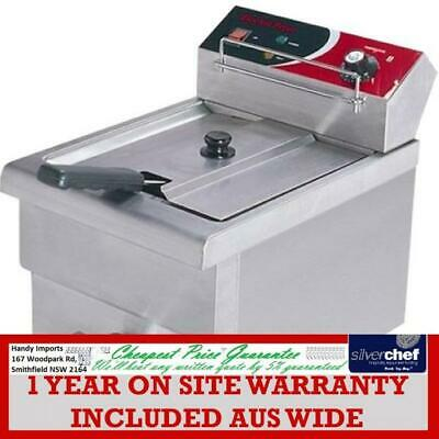 Fed Commercial 7.5L Single Benchtop Electric Deep Fryer & Tap 15 Amp Ef-S7.51/15