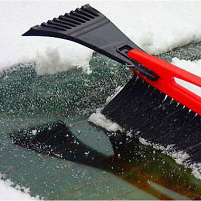 Car Snow Shovel Scraper Removal Clean Tool Ice Remove Tool with Brush Winter