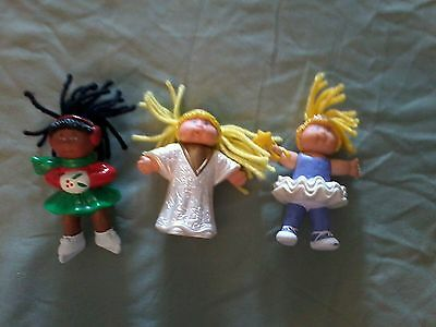 Lot of 3 Cabbage Patch Kid Happy Meal Toys