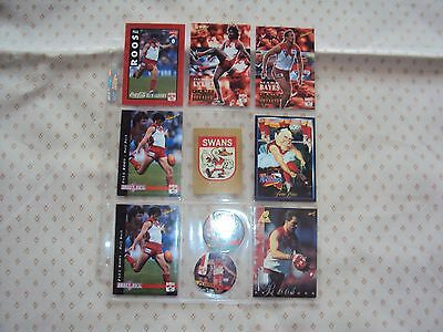 Afl  Trading Cards Mixed (Lot Sy1)Used