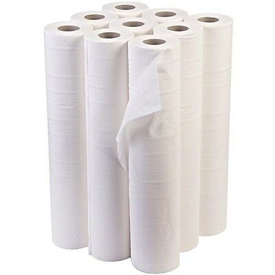 "Premium Quality White 20"" Couch Rolls Hygiene Roll (9 Rolls) Buy 2+ Get 10% Off"
