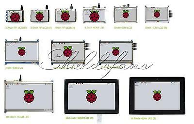 LCD Touch Screen Display für Raspberry Pi 3 / 2 / B+ 2.4inch to 5inch HMI LCD