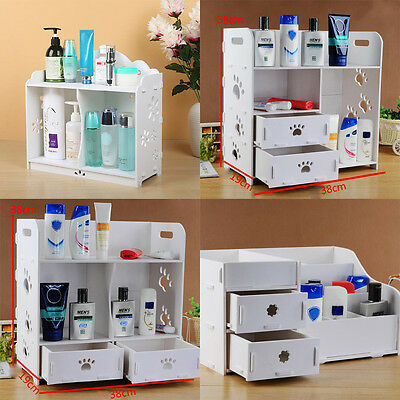 DIY Organizer Makeup Drawers Holder Case Box or Bathroom Storage Cabinets