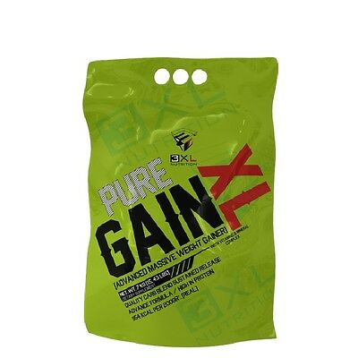 PROTEINAS CARBOHIDRATOS PURE GAIN XL 7kg Fresa Nata  3XL NUTRITION
